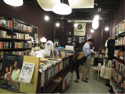 book moby店内